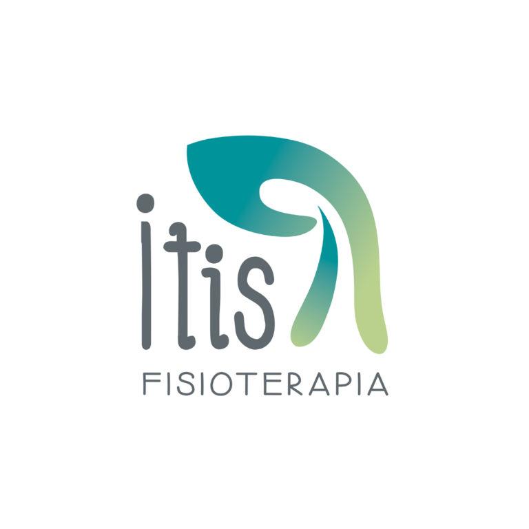 Diseño de logotipo para Itis fisioterapia