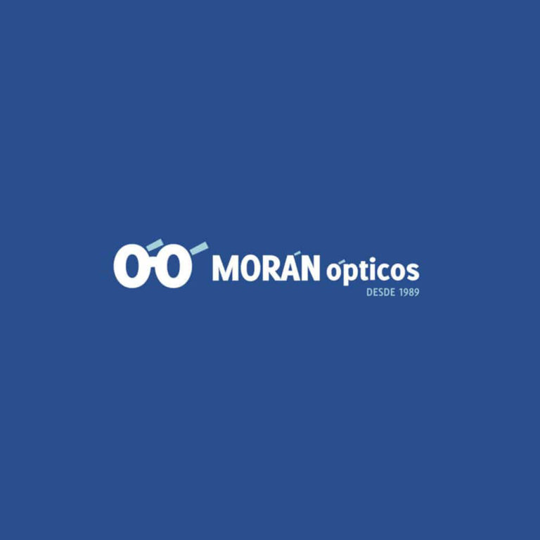 Diseño de logotipo Morán Ópticos