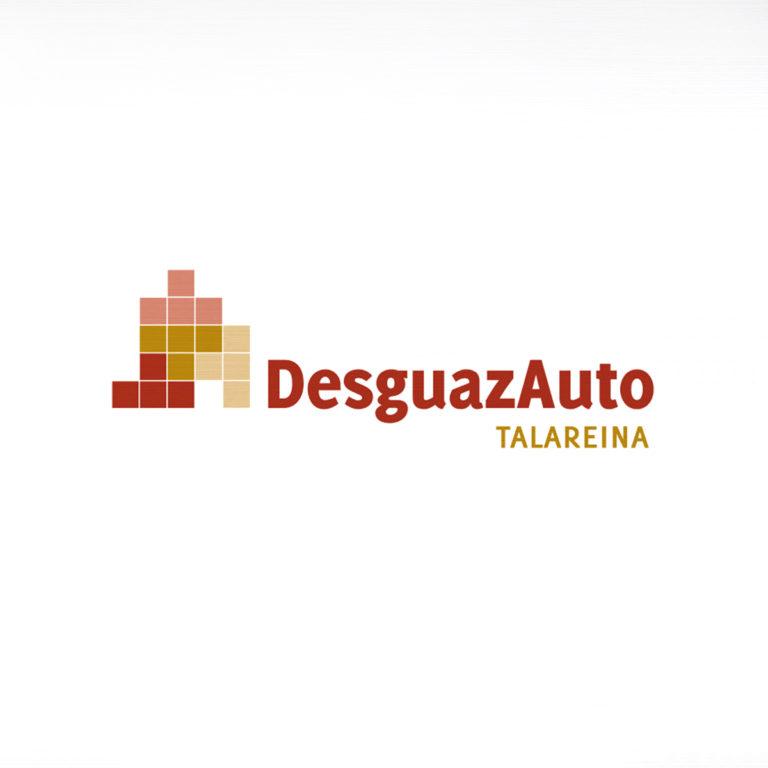 Logotipo y branding para Desguazauto Talarreina