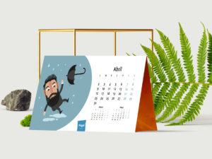 Diseño gráfico corporativo - Calendario de empresa